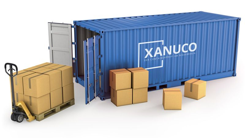 xanuco lagercontainer mieten. Black Bedroom Furniture Sets. Home Design Ideas